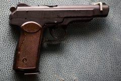 Ρωσικό στρατιωτικό πιστόλι - APS Stechkin - σοβιετικό όπλο Στοκ Φωτογραφίες