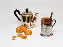 ρωσικό τσάι παραδοσιακό Στοκ Φωτογραφία