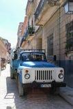 Ρωσικό φορτηγό στην οδό, Κούβα, Αβάνα Στοκ εικόνα με δικαίωμα ελεύθερης χρήσης