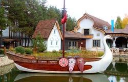 Ρωσικό χωριό Στοκ Φωτογραφία