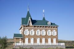 ρωσικό ύφος σπιτιών Στοκ φωτογραφίες με δικαίωμα ελεύθερης χρήσης