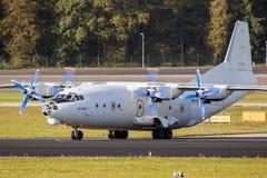 Ρωσικό Antonov ένας-12 αεροπλάνο μεταφοράς εμπορευμάτων Στοκ φωτογραφία με δικαίωμα ελεύθερης χρήσης