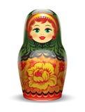 Ρωσικό matrioshka Στοκ φωτογραφίες με δικαίωμα ελεύθερης χρήσης