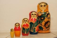 Ρωσικό matrioska λεπτομερώς Στοκ φωτογραφίες με δικαίωμα ελεύθερης χρήσης