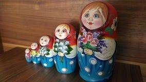 Ρωσικό matrushka Στοκ Εικόνες