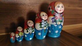 Ρωσικό matrushka Στοκ φωτογραφίες με δικαίωμα ελεύθερης χρήσης