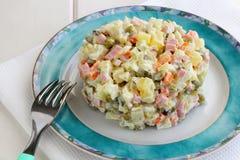 Ρωσικό Salat Στοκ Φωτογραφία