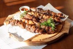 Ρωσικό shish kebab Στοκ φωτογραφίες με δικαίωμα ελεύθερης χρήσης