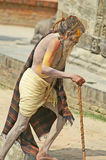 ρωτήστε το άτομο Νεπάλ φιλ Στοκ εικόνες με δικαίωμα ελεύθερης χρήσης