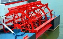 ρόδα κουπιών riverboat Στοκ Φωτογραφίες