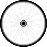 Ρόδα ποδηλάτων - διάνυσμα στην άσπρη ανασκόπηση ελεύθερη απεικόνιση δικαιώματος