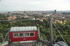 ρόδα της Βιέννης ferris Στοκ Εικόνες