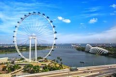 Ρόδα της Σιγκαπούρης Ferris στοκ εικόνες με δικαίωμα ελεύθερης χρήσης