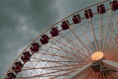 Ρόδα του Σικάγου Ferris στοκ εικόνα με δικαίωμα ελεύθερης χρήσης