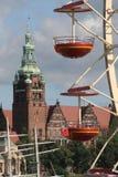 ρόδα 9 ferris Στοκ εικόνα με δικαίωμα ελεύθερης χρήσης