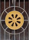 ρόδα dhamma Στοκ εικόνες με δικαίωμα ελεύθερης χρήσης