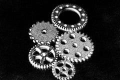 Ρόδες εργαλείων μετάλλων Στοκ εικόνες με δικαίωμα ελεύθερης χρήσης