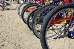 ρόδες ποδηλάτων Στοκ φωτογραφίες με δικαίωμα ελεύθερης χρήσης