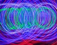Ρόδες του φωτός Στοκ Εικόνα