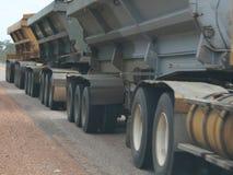 ρόδες truck Στοκ Φωτογραφία