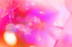 ρόδινα αστέρια στοκ φωτογραφίες