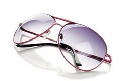 ρόδινα γυαλιά ηλίου Στοκ Φωτογραφίες