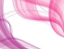ρόδινα πορφυρά διαφανή κύμα&ta Ελεύθερη απεικόνιση δικαιώματος