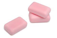 ρόδινα σαπούνια τρία χρώματ&omicro στοκ εικόνα με δικαίωμα ελεύθερης χρήσης