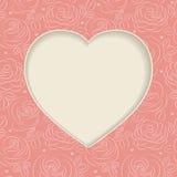 ρόδινα τριαντάφυλλα πλαισίων διανυσματική απεικόνιση