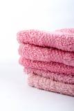 ρόδινες πετσέτες Στοκ φωτογραφία με δικαίωμα ελεύθερης χρήσης
