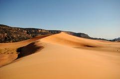 ρόδινη άμμος Utah αμμόλοφων κοραλλιών Στοκ εικόνα με δικαίωμα ελεύθερης χρήσης