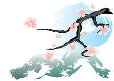 ρόδινη άνοιξη λουλουδιών Στοκ εικόνες με δικαίωμα ελεύθερης χρήσης