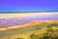 Ρόδινη επιφυλακή λιμνών στοκ εικόνα με δικαίωμα ελεύθερης χρήσης