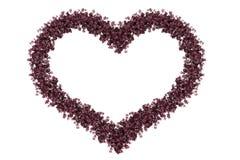 Ρόδινη καρδιά Απεικόνιση αποθεμάτων