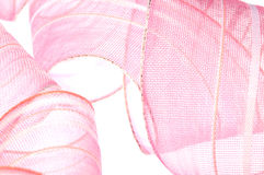 ρόδινη κορδέλλα Στοκ φωτογραφία με δικαίωμα ελεύθερης χρήσης