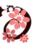 ρόδινη σπείρα λουλουδιώ& Στοκ φωτογραφία με δικαίωμα ελεύθερης χρήσης
