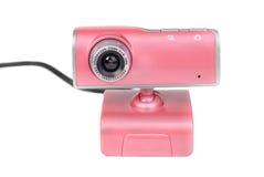 Ρόδινη φωτογραφική μηχανή Ιστού στοκ φωτογραφίες με δικαίωμα ελεύθερης χρήσης