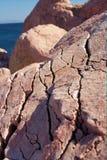 ρόδινοι βράχοι Στοκ Φωτογραφίες