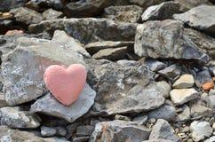 Ρόδινος αριθμός καρδιών Στοκ εικόνα με δικαίωμα ελεύθερης χρήσης