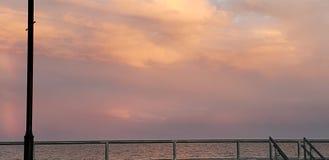 Ρόδινος ουρανός στοκ εικόνες με δικαίωμα ελεύθερης χρήσης