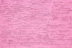 Ρόδινος τοίχος τσιμέντου σύστασης grunge r r στοκ φωτογραφία