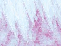 Ρόδινο άσπρο υπόβαθρο Στοκ εικόνα με δικαίωμα ελεύθερης χρήσης