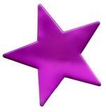 ρόδινο αστέρι Στοκ Φωτογραφίες