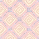 Ρόδινο γεωμετρικό άνευ ραφής υπόβαθρο colored multi pattern απεικόνιση αποθεμάτων