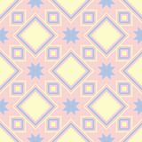 Ρόδινο γεωμετρικό άνευ ραφής υπόβαθρο colored multi pattern διανυσματική απεικόνιση