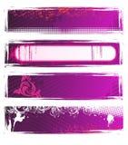 ρόδινο καθορισμένο διάνυ&si διανυσματική απεικόνιση