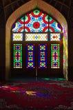 Ρόδινο μουσουλμανικό τέμενος στο Ιράν στοκ εικόνα με δικαίωμα ελεύθερης χρήσης