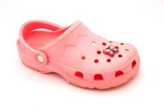 ρόδινο παπούτσι Στοκ Εικόνες