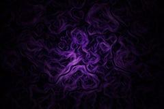 Ρόδινο πορφυρό υπόβαθρο ταπετσαριών γραμμών στροβίλου καπνού κυμάτων Abstrct Σύσταση για απεικόνιση αποθεμάτων