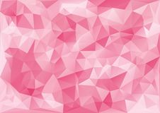 Ρόδινο σχέδιο γεωμετρικό διανυσματική απεικόνιση